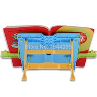 Wholesale Reading frame adjustable child reading books rack reading frame bookend supplies