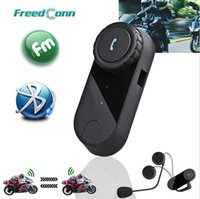 Wholesale Updated Version Original BT Bluetooth Motorcycle Helmet Intercom Interphone Headset with FM Radio