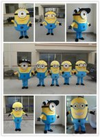 Wholesale 2015 Hot Brand NewA variety of styles Despicable me minion mascot costume for adults despicable me mascot costume