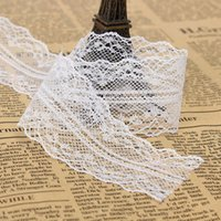 advanced materials technology - Hot Sale pc10 yards cm White Lace Embroidery Cotton Material Retro Style Produced by Advanced Technology and Good Quality order lt no trac