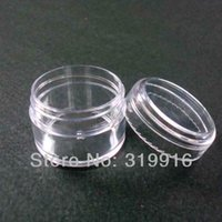plastic bottles and containers - g clear plastic container PS cream jar cosmetic bottles and jars hot pink gliter contaners pc