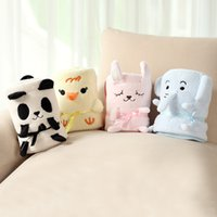 baby cashmere blankets - 2015 Hot Sale Newborn Baby Swaddle Blankets With Multifunction babies Summer Air Conditioning Blanket Knee Blankets