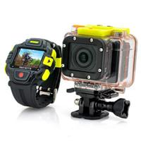 Precio de Mini cámaras wi fi-Cmos Sensor G8900 Deportes impermeable videocámara Full HD 1920x1080p Eyeshot Wi-Fi Reloj de control remoto MINI DVR 60M Resistir a la acción de la cámara