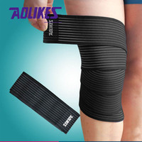 Wholesale 180 CM High Elastic Bandage for Knee Elbow Bandagem Elastica Sport Tape Joelheira Cotoveleira Vendas Para Deporte