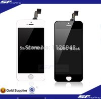 Cheap LCD for iPhone 5c 5S LCD Display Touch Screen Digitizer Assembly replacement free shipping