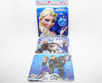magnetic paper - Christmas Gifts Frozen Puzzle Frozen Elsa Anna Magnetic Paper Doll Set dvd movies types Cartoon D puzzles Retail Packages pc set