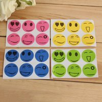Wholesale 2015 Cre ative Cartoon Smiling Face Drive Midge Mosquito Patch Mosquito Repeller Sticker Pest Repellent