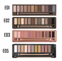 best eye shadow makeup brand - Nude colors eyeshaodw Eyeshadow Palette Eye Shadow With Brush makeup colors palette eyeshadow Brand New Best quality