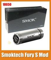 provari - Smoktech Fury S E Cig Mod Mechanical Mod For Battery E Cigarette pk provari mod chainsmoker mod fit Freakshow RDA Atomizer TZ133