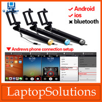 android express - Selfie Sticks Pro with Built in Wired Shutter For Apple android OS with Adjustable Phone Holder Express Shipping