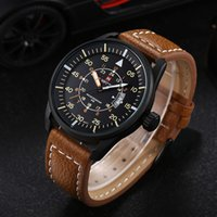 army watch strap - Mens Army Military Sports Watches NAVIFORCE Brand Date Clock Hour Fashion Genuine Leather Strap Watch Male Waterproof relogios