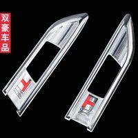 1 audi emblem light - Signal Lamp Light Side Emblem decoration carbon fiber stickers style Chromium Styling for CHEVROLET CRUZE