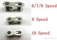 Wholesale 1 Pair Bike Chains mountain road bike bicycle chain Connector for Speed Quick Master Link Joint Chain bike parts A2