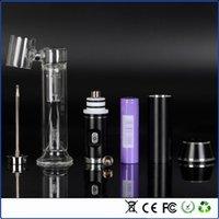 nail starter kit - G9 nail dab dry herb vaporizer kit wax vaporizer pen vape mod G9 nail electronic cigarette starter kit free ship