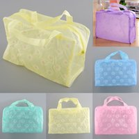 bathing suit bags - new waterproof transparent bathing suit fashion cosmetic bag toiletry kits bathroom finishing bags