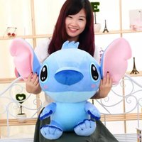 Wholesale 30CM New Arrival Cute Cartoon Lilo and Stitch Plush Toys Doll Stuffed Toy Doll Factory Price E066