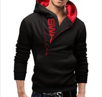 Wholesale new winter tide product printed letters men hooded fleece fleece cultivate one s morality M xl size NEW ARRIVE