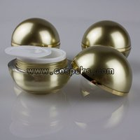 ball screw suppliers - 50pcs g acrylic cosmetic packaging manufacturer g gold cosmetic jars suppliers g ball cosmetic packaging