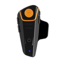 auto intercom systems - PC BTS2 Bluetooth Interphone meters talking range intercom Communication System Riders Auto Receiving Mobile Call