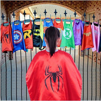 Wholesale 54 styles cosplay sostumes star wars capes kids superman capes superhero capes children boy costumes for children halloween party costumes