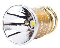 aluminum reflector lamp - Solarforce LC XML CREE T6 LED Mode lumens V V Smooth Aluminum Reflector Bulb Lamp for L2 Series P1 P1d Flashlight order lt no tr