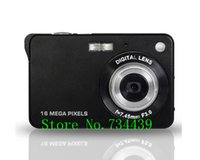Wholesale Latest Mp Max Mp CMOS Sensor Digital Camera with x Digital Zoom and Rechareable Lithium Battery