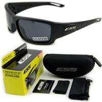 ballistic shooting glasses - Hot Sale ESS CREDENCE Ballistic Sunglasses Military Eyewear Tactical Shooting Glasses Polarized Not Ess Crossbow ICE
