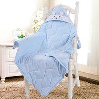 Cheap Cute cartoon Sleeping Bags Baby sleeping bag Infant sleeveless romper Children's Nursery Bedding quilt V15042205