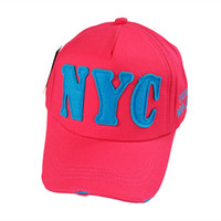 baseball hats nyc - 2015 NYC A baseball cap hat with a couple of men and women peaked cap summer sun hat