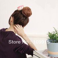 Wholesale 3 colors Women Fashion Bud Head Curlty Ball Package Sweet Cute Fluffy Wigs New LX0014
