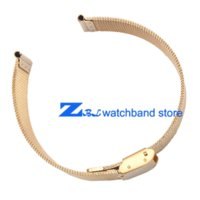 Wholesale ultra thin Gold Stainless steel Watchband Mesh strap width10mm mm mm mm mm mm mm mm Bracelets Watch band