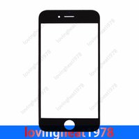 Wholesale 1 free HK post shipping glass lens For iphone G inch Front Outer Glass Lens Touch Screen without flex