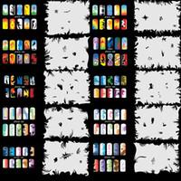 airbrush tools - OPHIR Airbrush Nail Stencil Set Nail Tools Airbrushing x Template Sheet for Airbrush Kit Nail Art Paint _JFH10