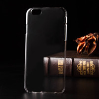 Wholesale For iPhone plus Crystal Clear Case Ultrathin Hard Transparent PC Case Back cover for iPhone S plus S SE