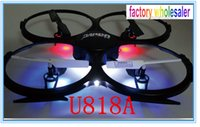 Wholesale Hot selling Super long distance remote control plane four rotor aircraft UFO four channel aerial flying saucer