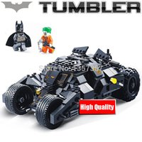 Wholesale Batman The Tumbler Set Building Blocks Sets Model Toys For Children CDC Super Heroes The Dark Night Joker