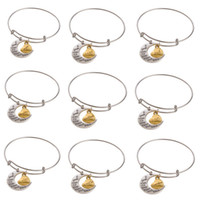 stainless steel necklace clasp - Alex and Ani Style Love charm Bangle Different Design Silver Plated Alloy Charm Bracelets and Bangles Statement Necklaces charms