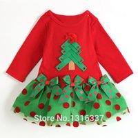 Wholesale Hot sale retail children s clothing girls models short sleeved dress children dress Christmas Polka Dot net veil Factory Direct