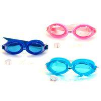 Wholesale Mesuca Sport SUPER K Professional Water Sport Anti fog Waterproof Protection Swimming Goggles Set in for Kids