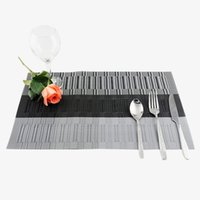 Wholesale Wholesales Colorful Resistant Mats Kitchen Accessories Table Mats Drink Coasters Hotel Coffee Cup Table Pads JE0177