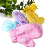 Wholesale 4 colors Gloves Waterproof Oil Dishwashing gloves Magic Natural Wood Fiber Cleaning Housework Kitchen Cleanning Gloves