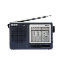 achat en gros de tecsun radio-TECSUN R-9012 haute sensibilité 12 bande FM / AM / SW Radio Receiver Gris Y4122H