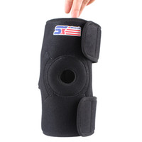 knee support - SSX523 Outdoor Sports Safety Elastic Basketball Volleyball Knee Pad Magnetic Velcro Kneepad Brace Support Protector