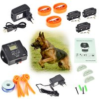 electric fence wire - 5000 Square Meters Wireless Invisible Electric Dog Fence Fencing System for Dogs Pet Safety Collar Controller