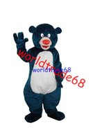 bear africa - Customized Adult Party DressNorth Africa Baloo Bear Mascot Costume