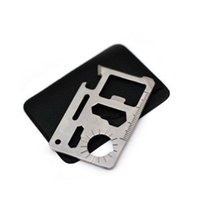 Wholesale Multifunction card knife outdoor camping life saving card universal tool card card cutter auto interior products