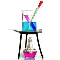 beaker stand - laboratory equipment set test tube Spoon glass dropper beaker tripod stand glass stirring rod Alcohol lamp