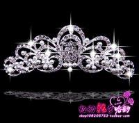 beaded hair sticks - 2015 Crystal Tiaras Hair Accessories Beaded Gold Blossom Hair Vine Headpiece Beaded Wedding Headpiece Bride Headpieces Bridal Hair Crowns