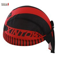 bandana material - Sweatproof Breathable Quick Dry Fashion Cycling Cap Outdoor Sports Pirate Bandana Bicycle Headband Handwear Polyester Material