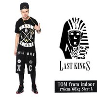 Men area man t shirt - 2015 hot selling Europe and the United States hip hop cotton T shirt LAST new pharaoh KINGS cross area fashion t shirt for men
